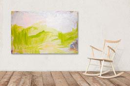 160 x 100 cm - Auf der grünen Wiese
