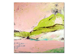 Bereits verkauft !!!!!!!   rosa abstraktes Bild