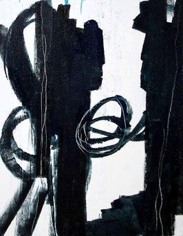 s/w schwarz weiss 100 x 80 cm