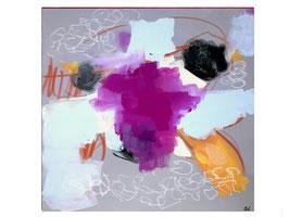 50 x 40 cm -  Friedliches Leben I