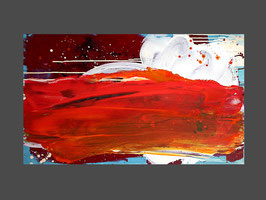 140 x 80 cm - Freier Gedankenwirbel