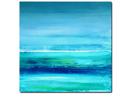 blaue große Bilder / Landschaft