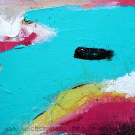 Ihren Lieblingssee in ein abstraktes Bild verwandeln lassen 80 x 80 cm