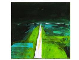 grüne Bilder - Schritte des Lebens