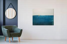 blaues Bild 120 x 100 cm