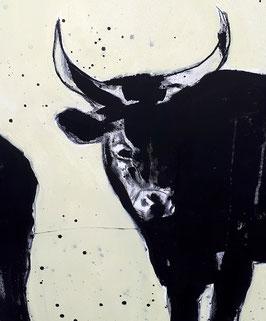 Stier (Wasserbüffel) malen lassen - als Auftragsbild