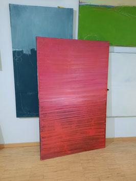 rotes Bild 160 x 100 cm