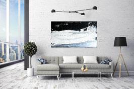 schwarzweisses Bild - 120 x 80