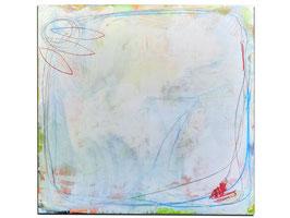 Weißes Bild 180 x 140 cm