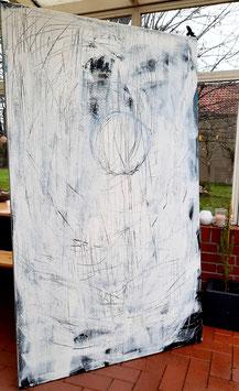 Bereits verkauft!!!!! großes Bild 190 x 115 cm - Yogatime
