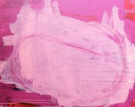 Pinkes Bild - Ausbruch der Gedanken