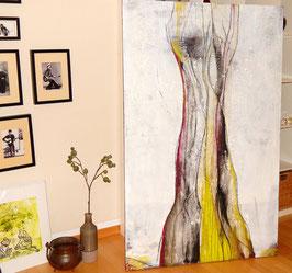 Weißes Bild - 100 x 160 cm
