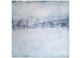 weißes Bild auf 100 x 100 cm
