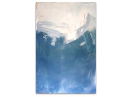 blaues großes Bild - 160 x 100 cm