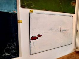 Bereits verkauft - Weisses Bild - 160 x 100 cm