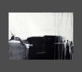 schwarzweißes Bild - Frei werdende Gedanken