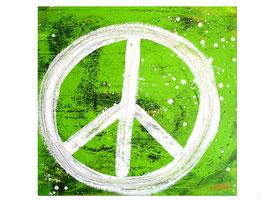 Grünes Bild 80 x 80 cm