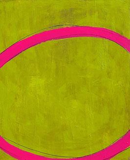 Süße Früchte - grünes Bild - 100 x 80 cm