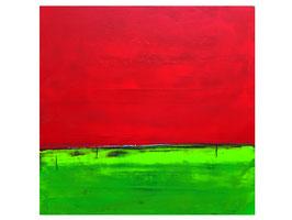 Abstraktes Bild auf 110 x 130 cm