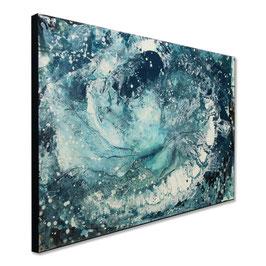 Blaues Bild - 120 x 80 cm