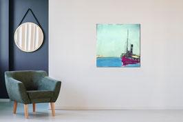 Sonnenseite - 80 x 80 cm