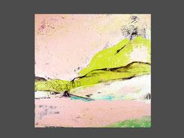 rosa abstraktes Bild