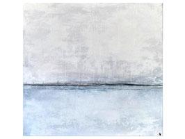 weißes Bild auf 70 x 70cm