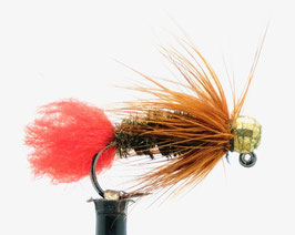 Yangoo TUNGSTEN JIG Red Tag Gold #10