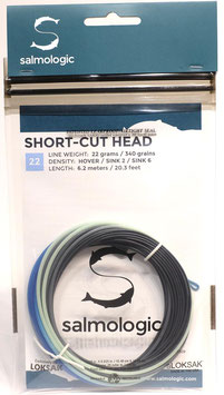 Salmologic SHORT CUT HEAD 22g./ 340grains HOVER/ SINK2/ SINK6