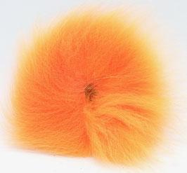 Orkla Fur & Feather ARCTIC FOX TAIL Orange