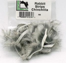 Hareline RABBIT STRIPS Chinchilla RS5