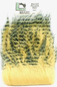 Hareline BARRED PSEUDO HAIR Sand