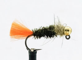 Yangoo TUNGSTEN JIG Black Gold #10