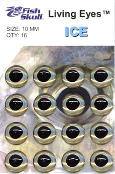 Fish Skull LIVING EYES Ice 10mm