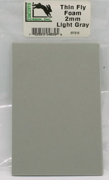 Hareline THIN FLY FOAM Light Gray 2FF210