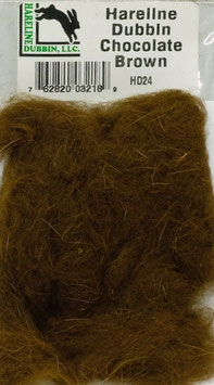 Hareline DUBBIN Chocolate Brown HD24