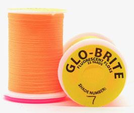 GLO BRITE FLOSS 7 Fl. Orange