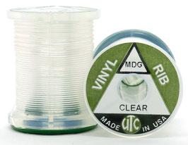 "UTC VINYL ""D"" RIB Clear VRS000"