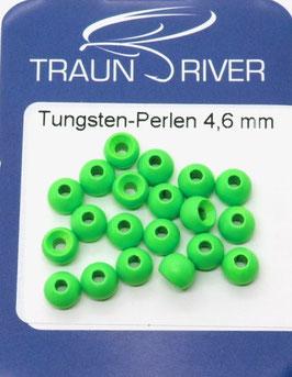 Traun River TUNGSTENKUGELN 4,6mm Fluo Grün