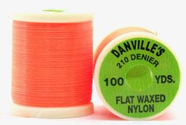 Danville's  FLAT WAXED NYLON 210 Fl. Red TPS505