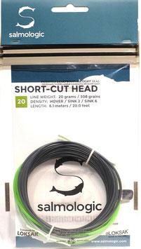 Salmologic SHORT CUT HEAD 20g./ 308grains HOVER/ SINK2/ SINK6