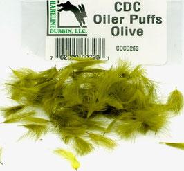 Hareline CDC OILER PUFFS Olive CDCO263