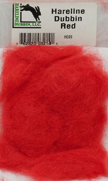 Hareline DUBBIN Red HD20