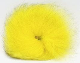 Orkla Fur & Feather ARCTIC FOX TAIL Yellow