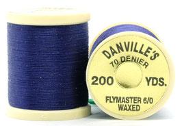 Danville's FLYMASTER 70 Denier Waxed Purole TFS092