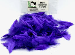 Hareline MINI MARABOU Purple MM298