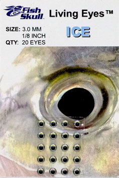 Fish Skull LIVING EYES Ice 3mm