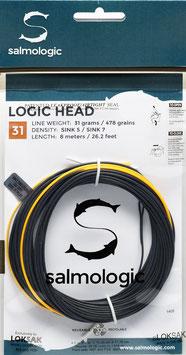 Salmologic LOGIC HEAD 31g./ 478grains SINK5/ SINK7