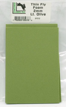 Hareline THIN FLY FOAM Light Olive 2FF212
