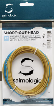 Salmologic SHORT CUT HEAD 22g./ 340grains FLOATING/ INTERMEDIATE